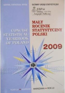 Mały rocznik statystyczny Polski 2009
