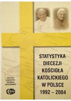 Statystyka diecezji Kościoła Katolickiego w Polsce 1992 - 2004