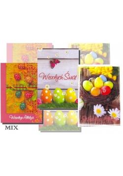 Kartka B6 Świąteczna MIX Wielkanoc AVANTI