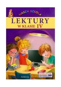 Nasza Szkoła Lektury w klasie IV