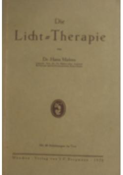Die Licht = Therapie , 1926 r.