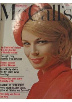 McCall's - First Women's Magazine, 6 numerów 1962-63