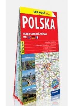 See you! in... Polska 1:700 000 mapa samochodowa
