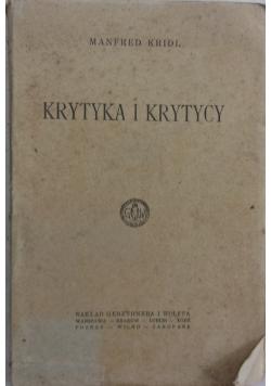 Krytyka i krytycy,1923r