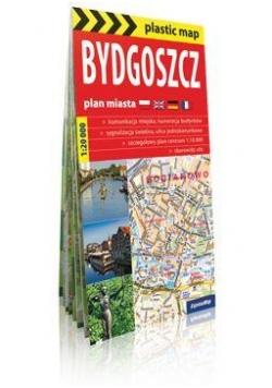 Plastic map Bydgoszcz 1:20 000 plan miasta