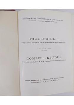 Proceedings, Comptes- Rendus