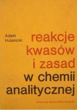Reakcje kwasów i zasad w chemii analitycznej