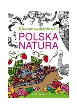 Polska natura. Kolorowanki antystresowe