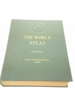 The world atlas. Index of geographical names