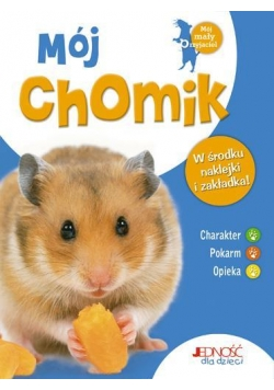 Mój chomik - książka z naklejkami