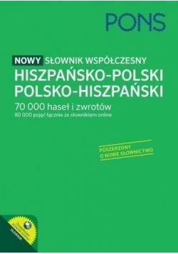 Nowy słownik współczesny hisz-pol-hisz PONS