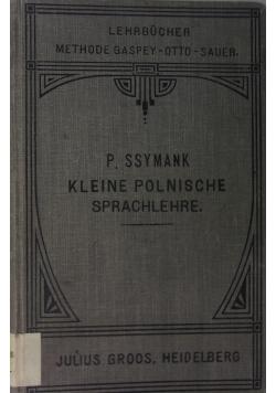 Kleine Polnische sprachlehre, 1914 r.