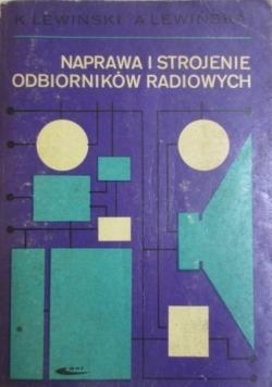 Naprawa i strojenie odbiorników radiowych