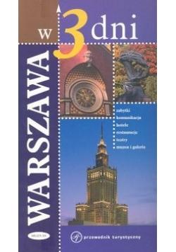 Warszawa w 3 dni Przewodnik turystyczny