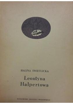 Leontyna Halpertowa