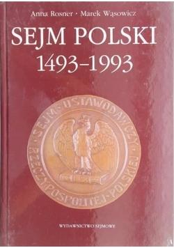 Sejm Polski 1493-1993
