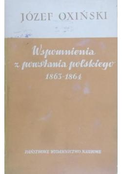 Wspomnienia z powstania polskiego 1863-1864