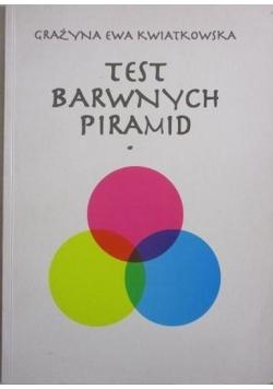Test barwnych piramid