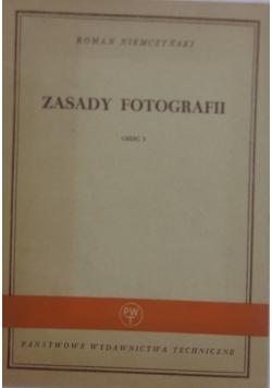 Zasady fotografii, cz.I