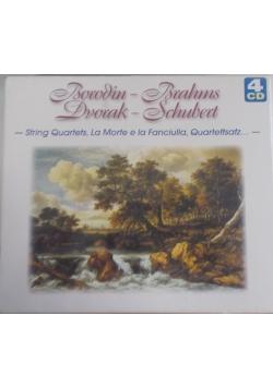 Borodin-Brahms Dvorak-Schubert, płyta CD