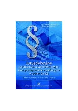Jurysdykcyjne postępowanie administracyjne oraz postępowanie egzekucyjne w administracji