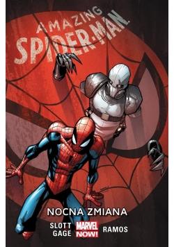 Amazing Spider-Man Nocna zmiana T.4