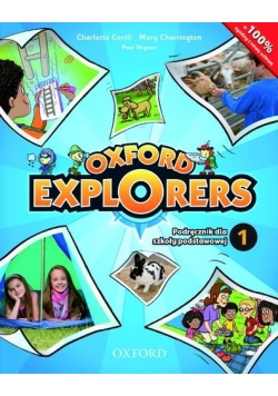 Oxford Explorers 1 SB + CD OXFORD wieloletni