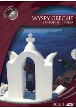 Podróże marzeń. Wyspy greckie (Box 3 DVD)