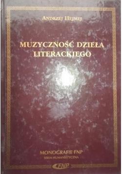 Muzyczność dzieła literackiego