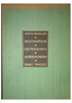 Neue malerei in osterreich, 1923 r.