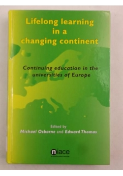 Lifelong learning in a changing continent