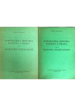 Powszechna historia państwa i prawa, Tom I-II