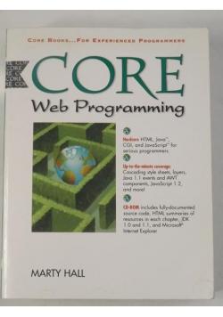 Core web programming, płyta CD