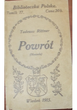 Powrót, 1915r