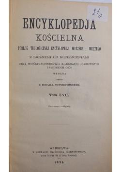 Encyklopedia Kościelna Tom XVIII, 1892 r.