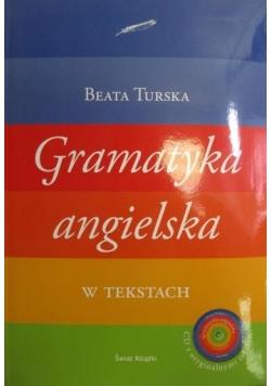 Gramatyka angielska w tekstach z płytą CD