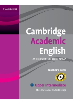 Cambridge Academic English B2 Upper Intermediate Teacher's Book
