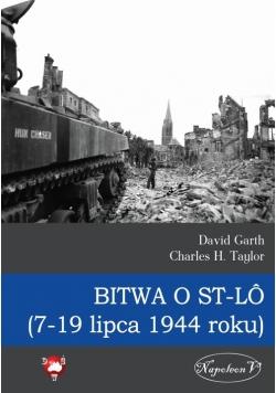 Bitwa o St-LO (7-19 lipca 1944 roku)