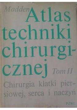 Atlas techniki chirurgicznej