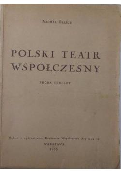 Polski teatr współczesny, 1935r