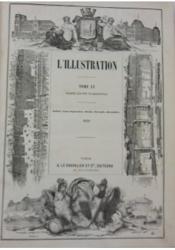 L'illustration, tome XX, 1852 r.