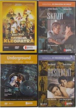 Gazeta Wyborcza, zestaw 4 filmów DVD