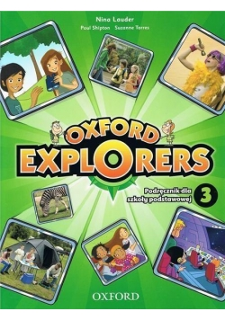 Oxford Explorers 3 SB + DVD OXFORD