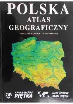 Polska, atlas geograficzny