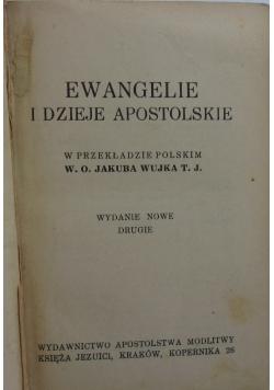 Ewangelie i dzieje apostolskie, 1938 r.