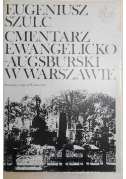 Cmentarz ewangelicko-augsburski w Warszawie