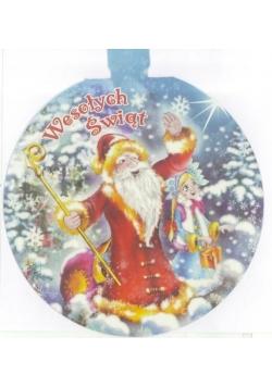 Karnet z futerkiem - Boże Narodzenie MIX