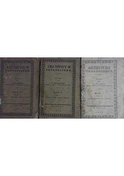 Archiwum teologiczne, poszyt 2-4, 1836r.