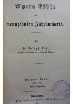 Allgemeine Eschichte ,1880r.