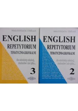 English repetytorium tematyczno-leksykalne Tom II-III